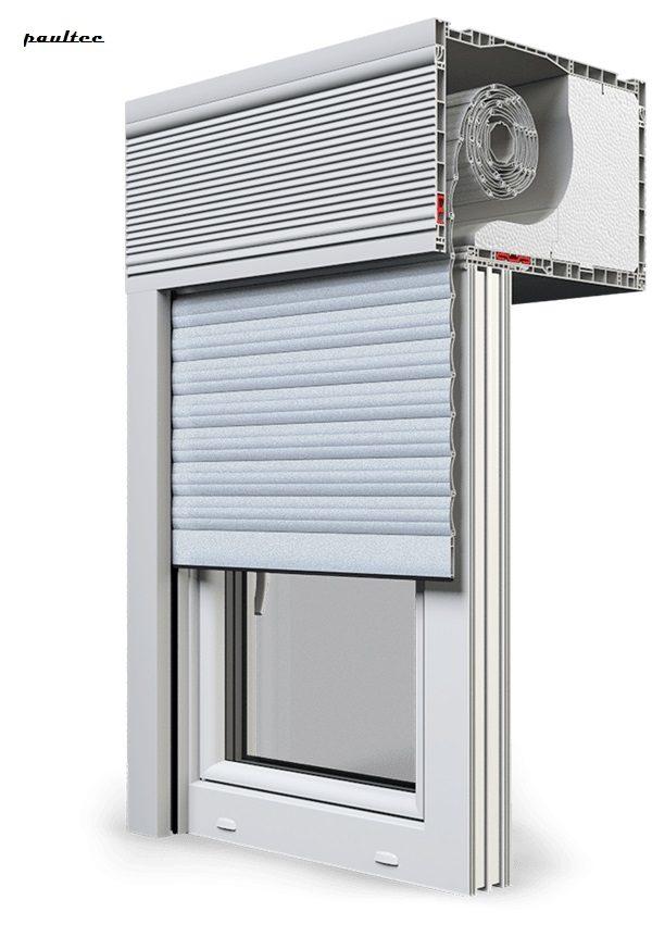 1 Silber Fenster Rollladen CleverBox Beclever