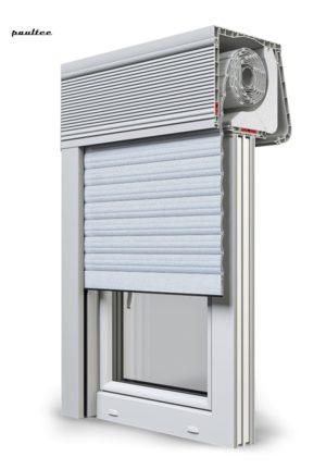 1 Silber Fenster Rollladen CleverBox Soft Beclever