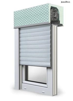 1 Silber Fenster Rollladen ROKA TOP 2 Unterputzrollladen Beck-Heun