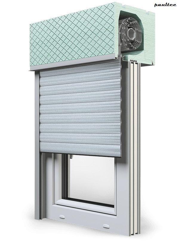 1 Silber Fenster Rollladen ROKA TOP 2RG Unterputzrollladen Beck-Heun