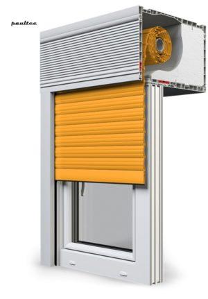 10 Gelb Fenster Rollladen CleverBox Beclever