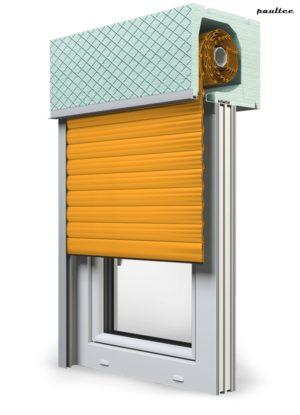 10 Gelb Fenster Rollladen ROKA TOP 2RG Unterputzrollladen Beck-Heun