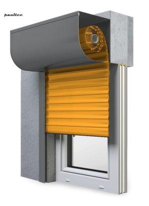10 Gelb Fenster Rollladen SKP Vorbaurollladen Aluprof
