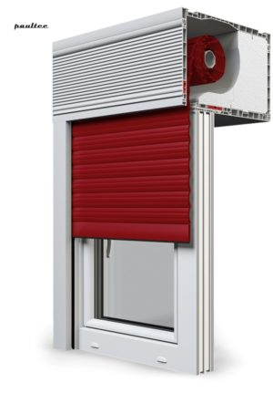 11 Rot Fenster Rollladen CleverBox Beclever
