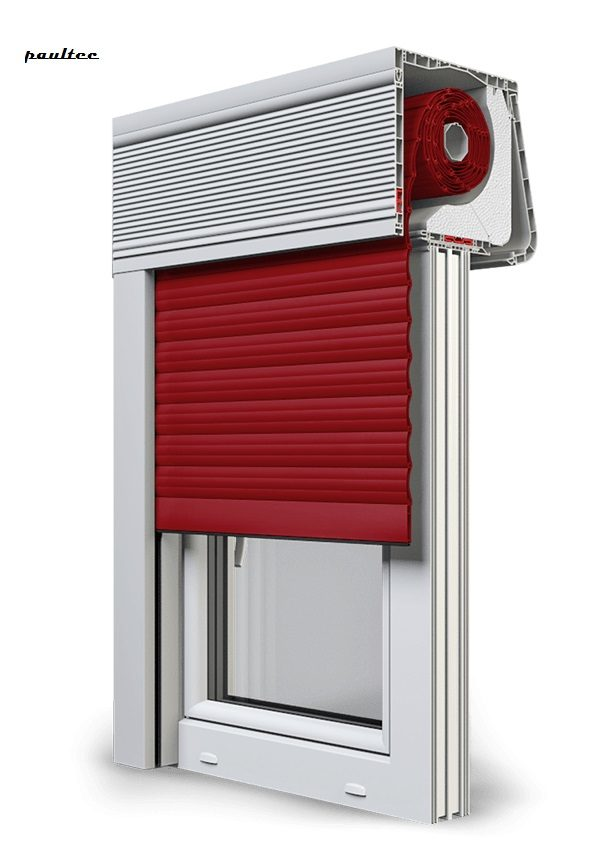 11 Rot Fenster Rollladen CleverBox Soft Beclever