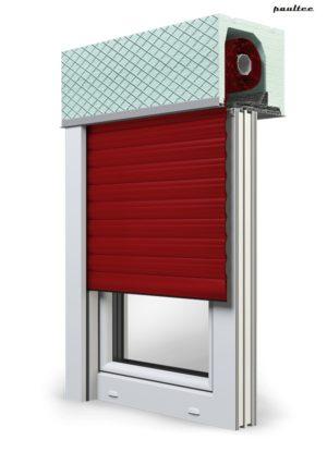 11 Rot Fenster Rollladen ROKA TOP 2 Unterputzrollladen Beck-Heun