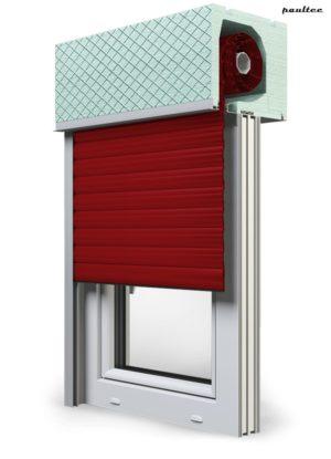 11 Rot Fenster Rollladen ROKA TOP 2RG Unterputzrollladen Beck-Heun