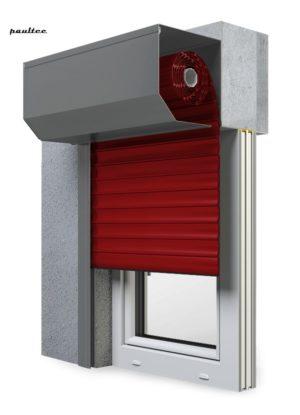11 Rot Fenster Rollladen SK 45 Vorbaurollladen Aluprof