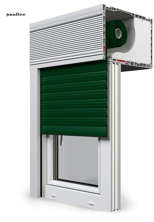 12 Grün Fenster Rollladen CleverBox Beclever