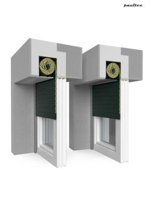 12 Grün Fenster Rollladen QuadBox Unterputzrollladen BeClever