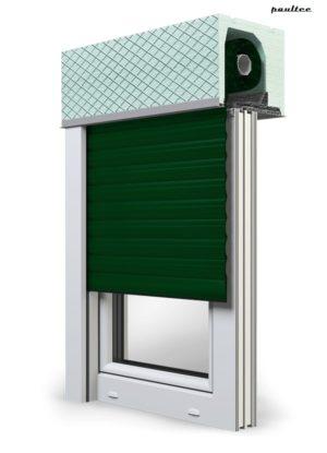 12 Grün Fenster Rollladen ROKA TOP 2 Unterputzrollladen Beck-Heun