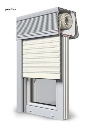 13 Cremeweiss Fenster Rollladen CleverBox Soft Beclever
