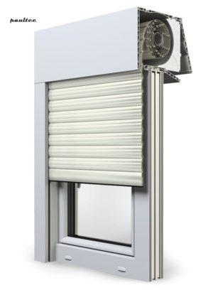 13 Cremeweiss Fenster Rollladen EXPERT XT Exte Aufsatzrollladen Aufbaurollladen
