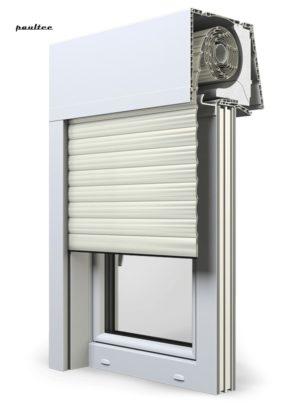 13 Cremeweiss Fenster Rollladen Elite XT Exte Aufsatzrollladen Aufbaurollladen