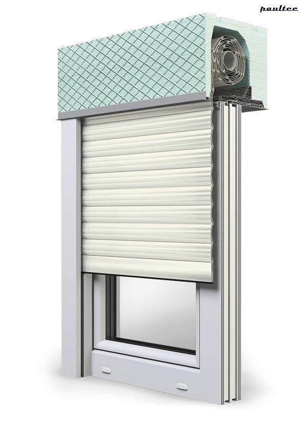 13 Cremeweiss Fenster Rollladen ROKA TOP 2 Unterputzrollladen Beck-Heun