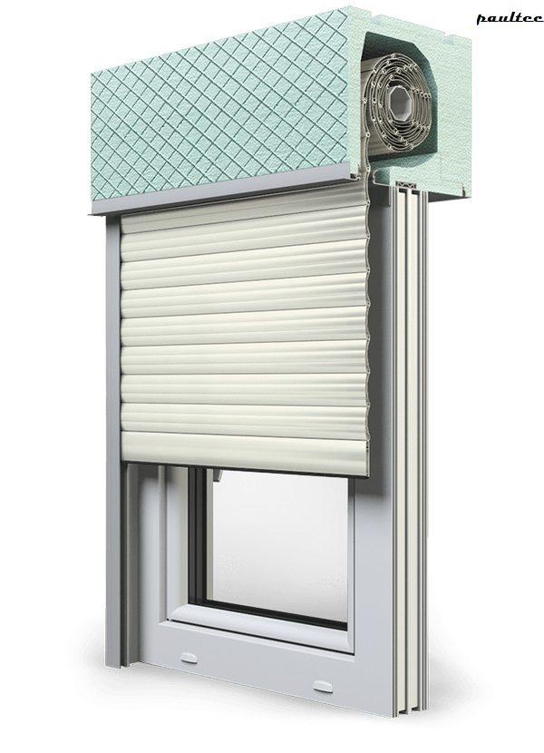 13 Cremeweiss Fenster Rollladen ROKA TOP 2RG Unterputzrollladen Beck-Heun
