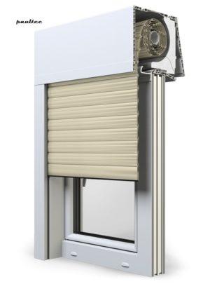 14 Elfenbein hell Fenster Rollladen Elite XT Exte Aufsatzrollladen Aufbaurollladen