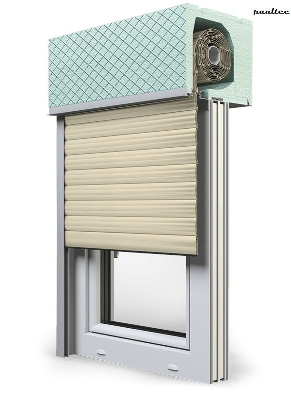 14 Elfenbein hell Fenster Rollladen ROKA TOP 2RG Unterputzrollladen Beck-Heun