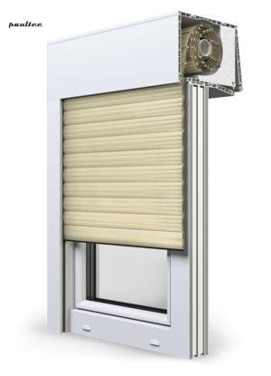 14 Elfenbein hell Fenster Rollladen SKT Opoterm Aluprof