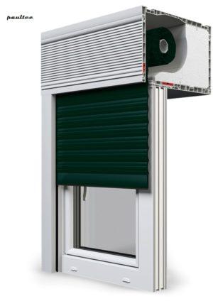 15 Tannengrün Fenster Rollladen CleverBox Beclever