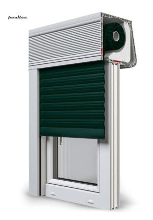 15 Tannengrün Fenster Rollladen CleverBox Soft Beclever