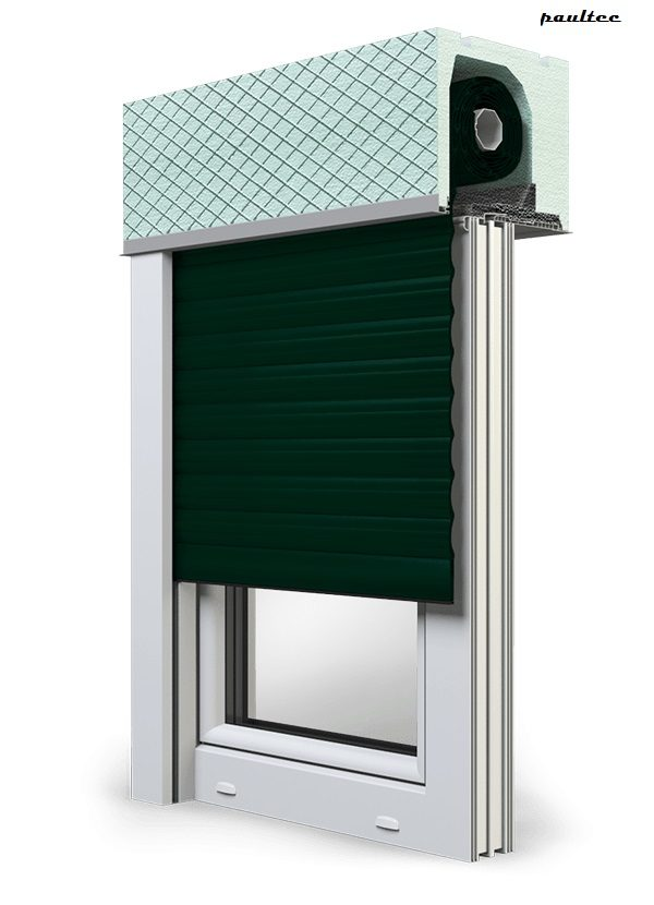 15 Tannengrün Fenster Rollladen ROKA TOP 2 Unterputzrollladen Beck-Heun