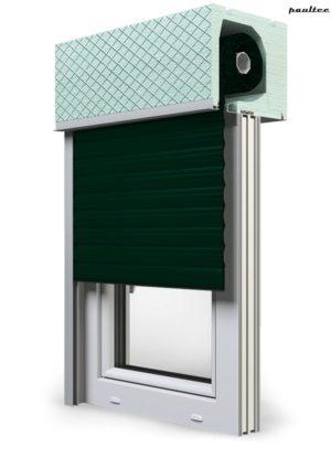 15 Tannengrün Fenster Rollladen ROKA TOP 2RG Unterputzrollladen Beck-Heun