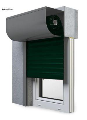 15 Tannengrün Fenster Rollladen SKP Vorbaurollladen Aluprof