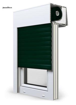 15 Tannengrün Fenster Rollladen SKT Opoterm Aluprof