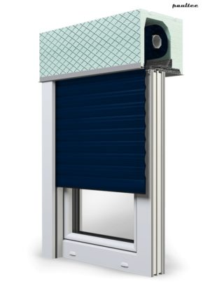 16 Stahlblau Fenster Rollladen ROKA TOP 2 Unterputzrollladen Beck-Heun