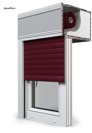 17 Weinrot Fenster Rollladen CleverBox Beclever