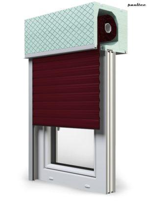 17 Weinrot Fenster Rollladen ROKA TOP 2RG Unterputzrollladen Beck-Heun