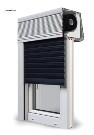 18 Schwarz Fenster Rollladen CleverBox Soft Beclever