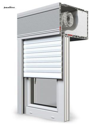 19 Ultraweiss Fenster Rollladen CleverBox Beclever