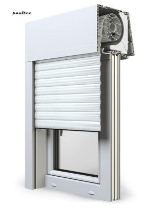 19 Ultraweiss Fenster Rollladen Elite XT Exte Aufsatzrollladen Aufbaurollladen