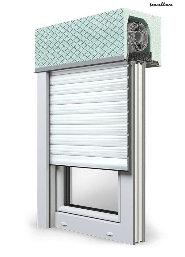 19 Ultraweiss Fenster Rollladen ROKA TOP 2 Unterputzrollladen Beck-Heun