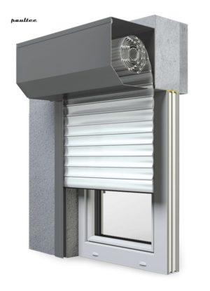 19 Ultraweiss Fenster Rollladen SK 45 Vorbaurollladen Aluprof