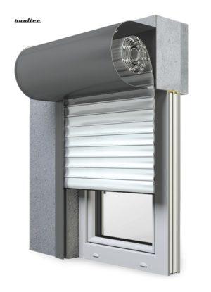 19 Ultraweiss Fenster Rollladen SKO-P Vorbaurollladen Aluprof