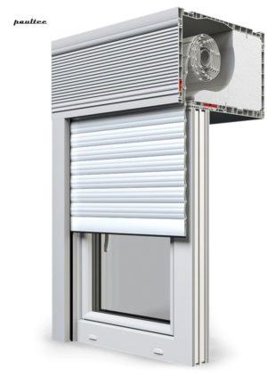 2 Weiß Fenster Rollladen CleverBox Beclever