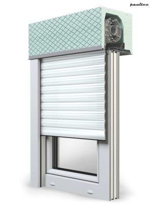2 Weiß Fenster Rollladen ROKA TOP 2 Unterputzrollladen Beck-Heun