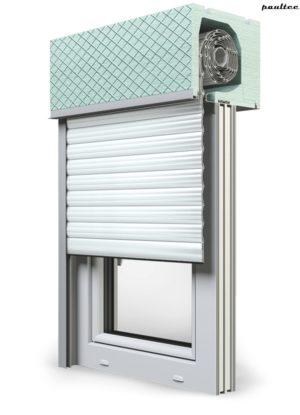 2 Weiß Fenster Rollladen ROKA TOP 2RG Unterputzrollladen Beck-Heun