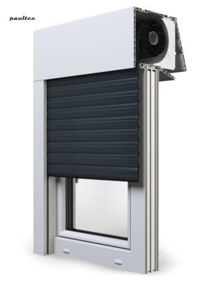 20 Anthrazitgrau Fenster Rollladen EXPERT XT Exte Aufsatzrollladen Aufbaurollladen