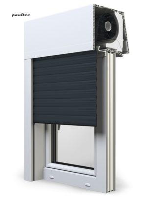 20 Anthrazitgrau Fenster Rollladen Elite XT Exte Aufsatzrollladen Aufbaurollladen