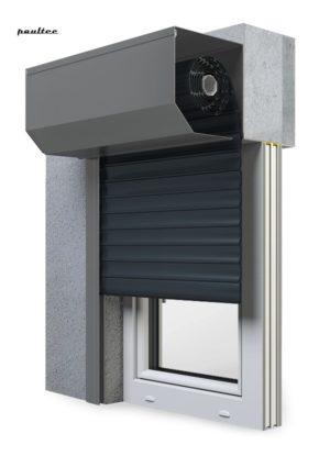 20 Anthrazitgrau Fenster Rollladen SK 45 Vorbaurollladen Aluprof