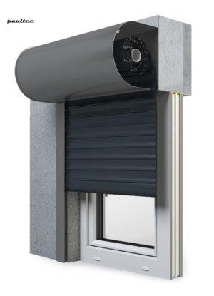 20 Anthrazitgrau Fenster Rollladen SKO-P Vorbaurollladen Aluprof