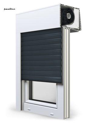 20 Anthrazitgrau Fenster Rollladen SKT Opoterm Aluprof