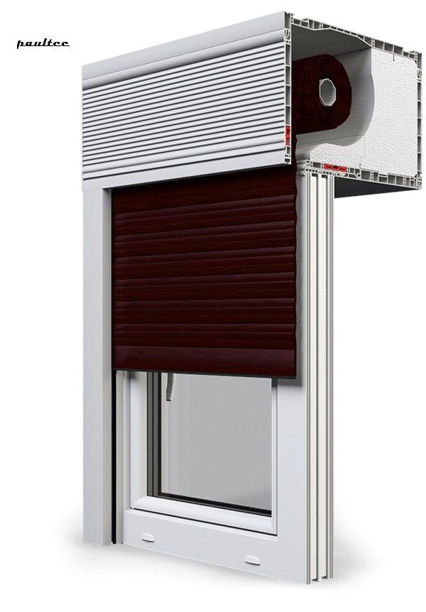 21 Mahagoni Fenster Rollladen CleverBox Beclever