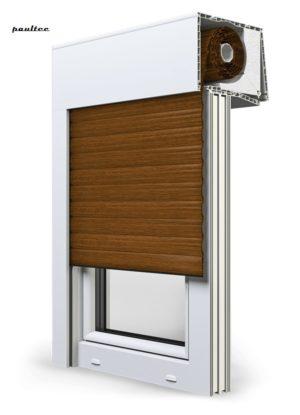 23 goldene Eiche Fenster Rollladen SKT Opoterm Aluprof
