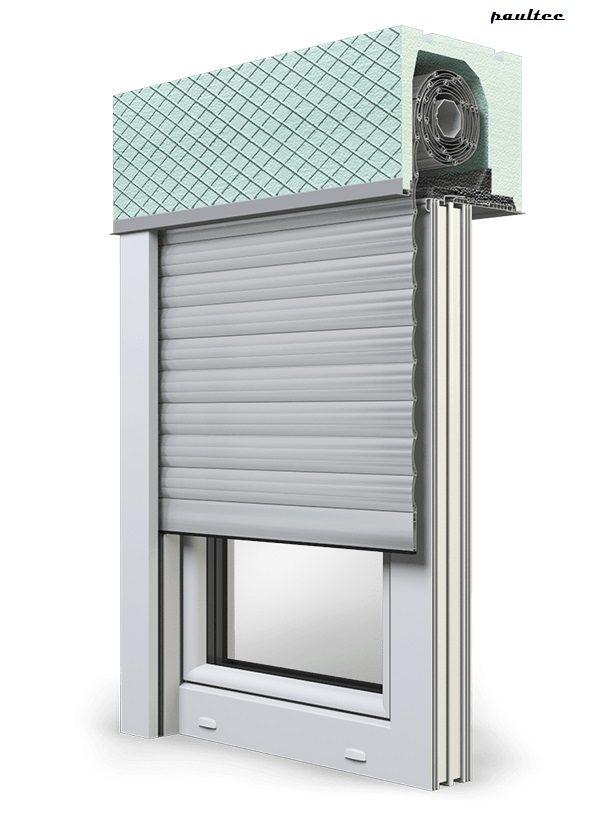 24 Hellgrau Fenster Rollladen ROKA TOP 2 Unterputzrollladen Beck-Heun