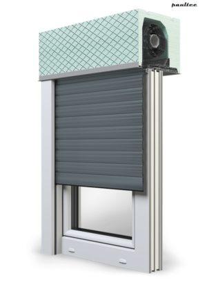 25 Basaltgrau Fenster Rollladen ROKA TOP 2 Unterputzrollladen Beck-Heun
